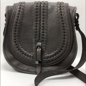 Dark Gray OrYany crossbody saddle bag